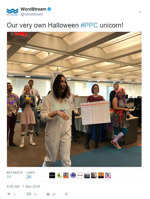 Tweets de cultura de la empresa
