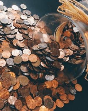Viviendo en centavos y oraciones