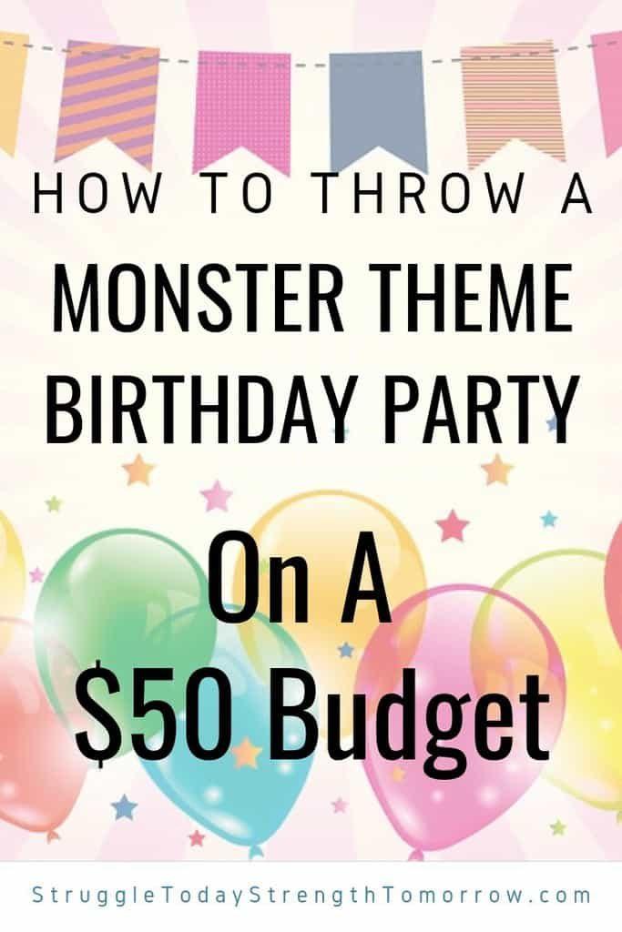 Cómo organizar una fiesta de cumpleaños temática de monstruos llena de consejos para ahorrar dinero. Vea algunos proyectos de bricolaje de bajo costo y fáciles de hacer para ayudarlo a mantenerse dentro del presupuesto. ¡Esta fiesta incluye un fotomatón e ideas de comida también! Te encantará ver cómo puedes tener una gran fiesta de cumpleaños de monster mash con un presupuesto tan pequeño.