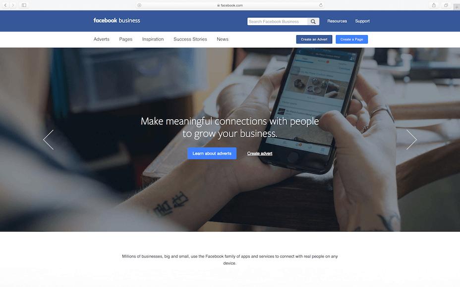 Configurar una cuenta de anuncios de Facebook