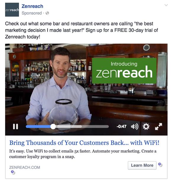 Video SEO Facebook video publicitario promoción pagada