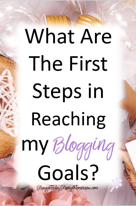 ¿Cuáles son los primeros pasos para alcanzar mis objetivos de blog?