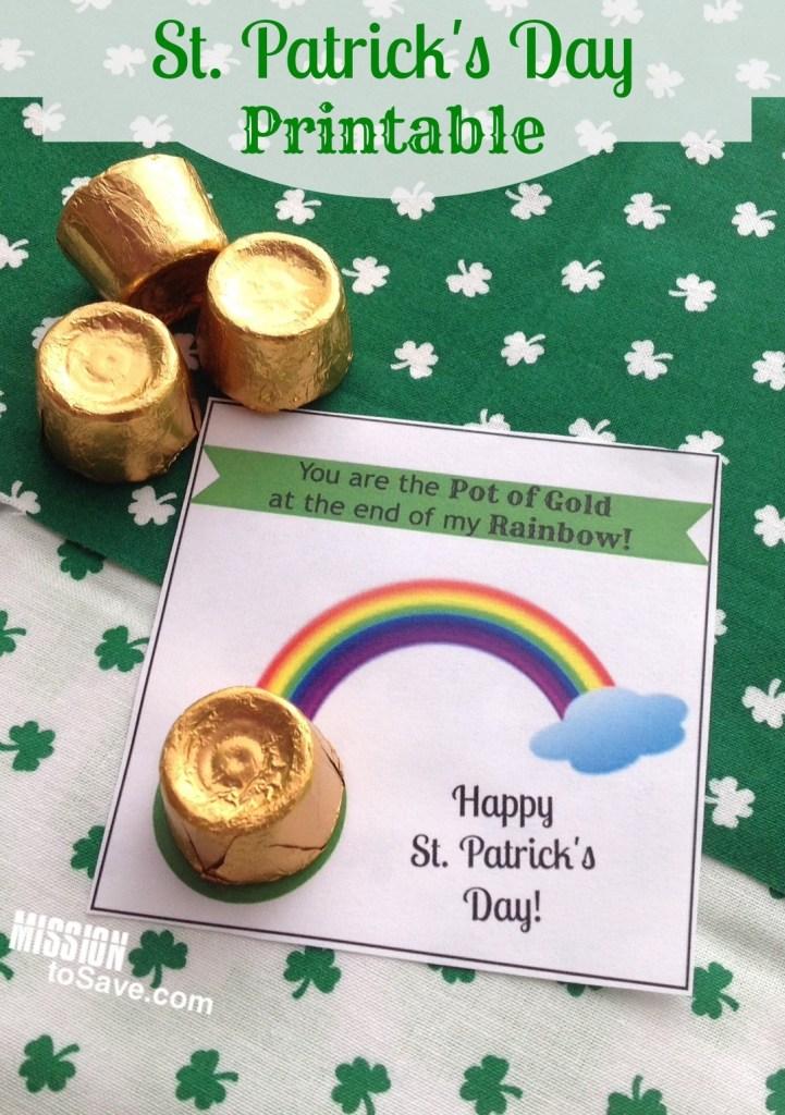 Obtenga estos GRATIS, usted es la etiqueta imprimible del Día de San Patricio. Muy lindo para una simple idea de regalo de aula de bricolaje. Día de la familia San Patricio
