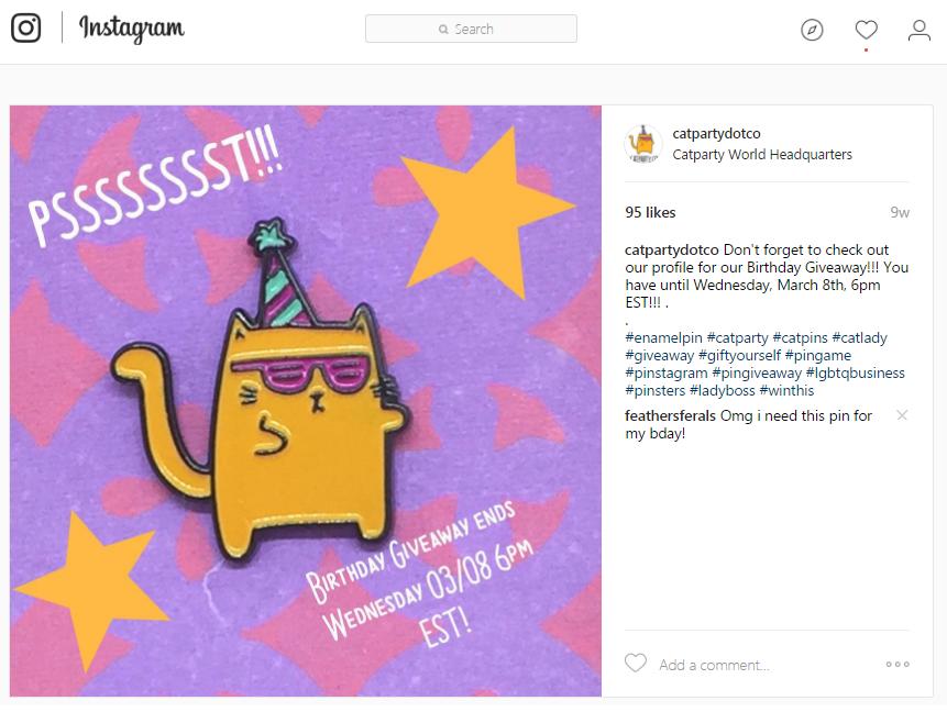 Fecha límite de regalos de Instagram