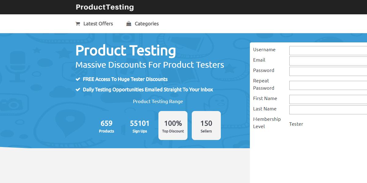 pruebas de producto