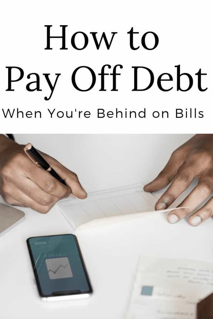 Permítame ayudarlo a descubrir cómo pagar la deuda, incluso cuando está atrasado en las facturas. ¡Mi consejo puede ayudarlo a controlar sus finanzas!
