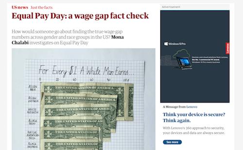 Día de pago igual: una verificación de hechos de brecha salarial