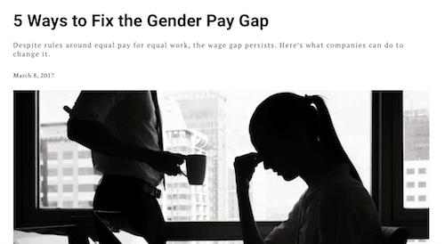 5 maneras de arreglar la brecha salarial de género
