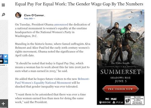 Igualdad salarial por igual trabajo: la brecha salarial de género por números