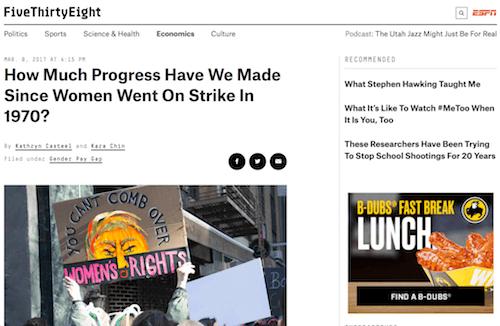 ¿Cuánto progreso hemos logrado desde que las mujeres iniciaron la huelga en 1970?