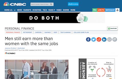 Los hombres aún ganan más que las mujeres con los mismos trabajos