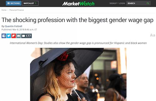 La impactante profesión con la mayor brecha salarial de género