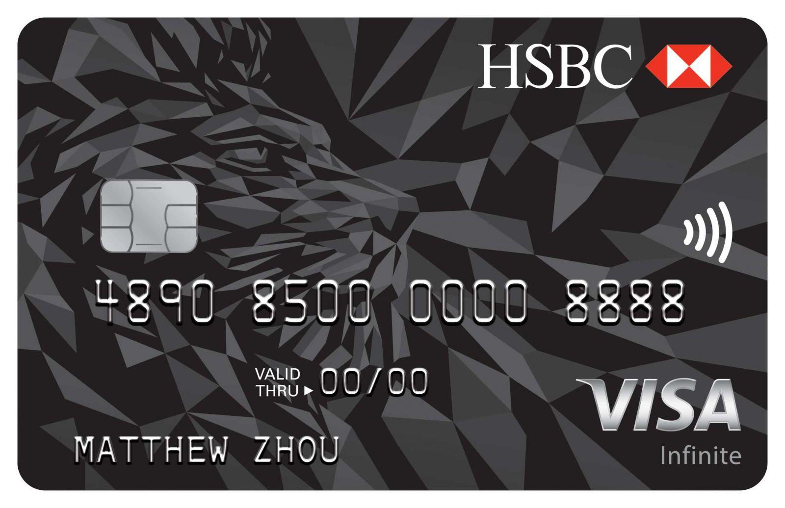 Tarjeta de crédito HSBC Visa Infinite