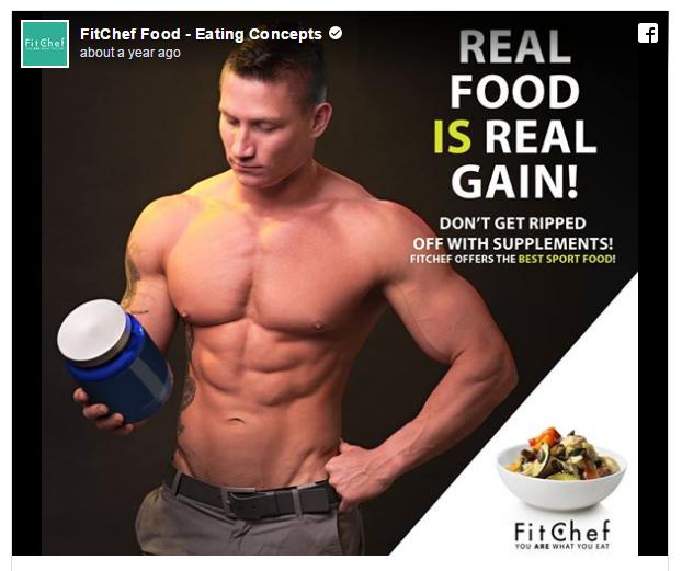 Cómo competir en el ejemplo de anuncios de fitness de Facebook Ads