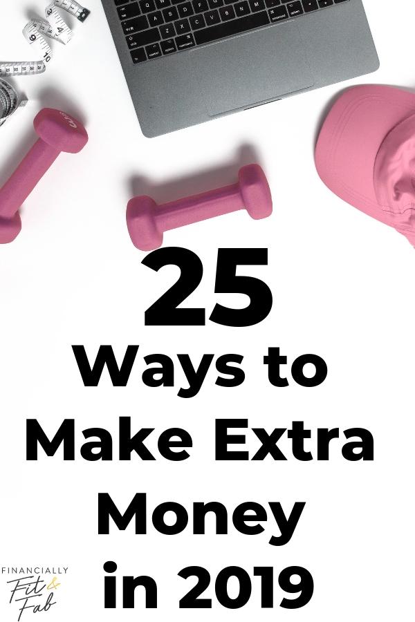 25 maneras de ganar dinero extra en 2019