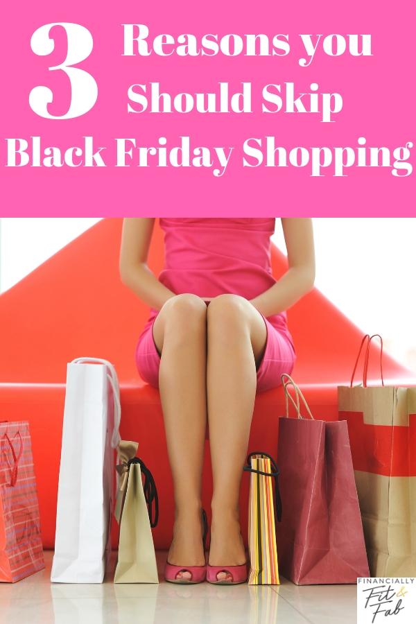 3 razones por las que debes saltarte las compras del Black Friday