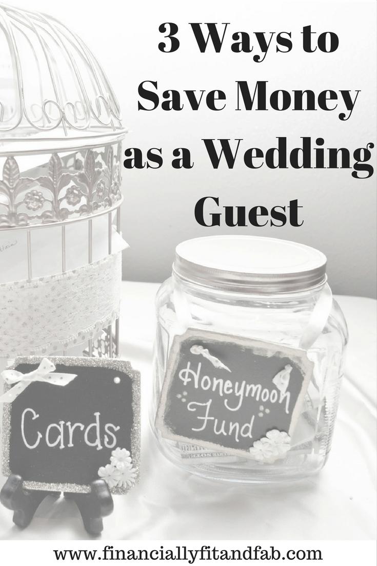 ¡Es temporada de bodas! Ser un invitado a la boda puede ser costoso. Eche un vistazo a estos 3 consejos para asegurarse de que ser un invitado a la boda no rompa el banco.