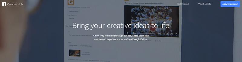 Centro creativo de Facebook para inspiración creativa de anuncios