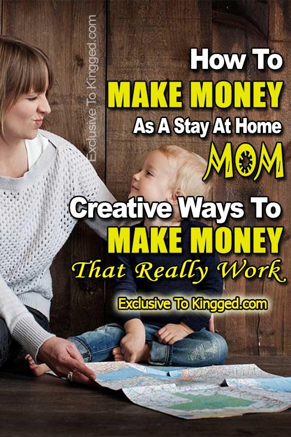 Cómo ganar dinero como una madre que se queda en casa