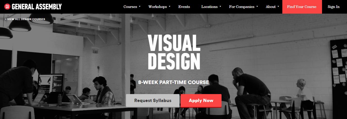 Blog tendencias de diseño tipografía sans serif Ejemplo de Asamblea General