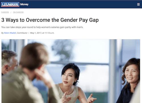 3 maneras de superar la brecha salarial de género