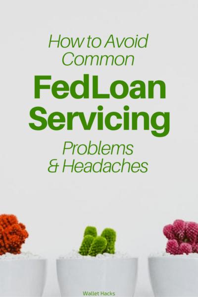 FedLoan Servicing es uno de los mayores administradores federales de préstamos estudiantiles y no están exentos de problemas. Analizamos algunos de los problemas comunes y cómo evitarlos (¡o al menos limitar el impacto!). Si tiene préstamos estudiantiles, ¡no quiere perderse esto!