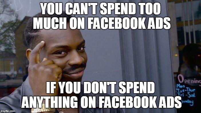 Cómo competir en Facebook Ads Roll Safe Meme