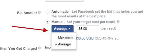Cómo competir en el promedio de oferta de anuncios de Facebook