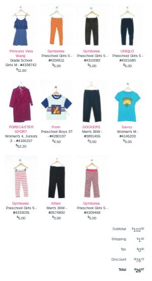 orden de Schoola Cómo comprar ropa barata para niños usados en línea a precios de ganga