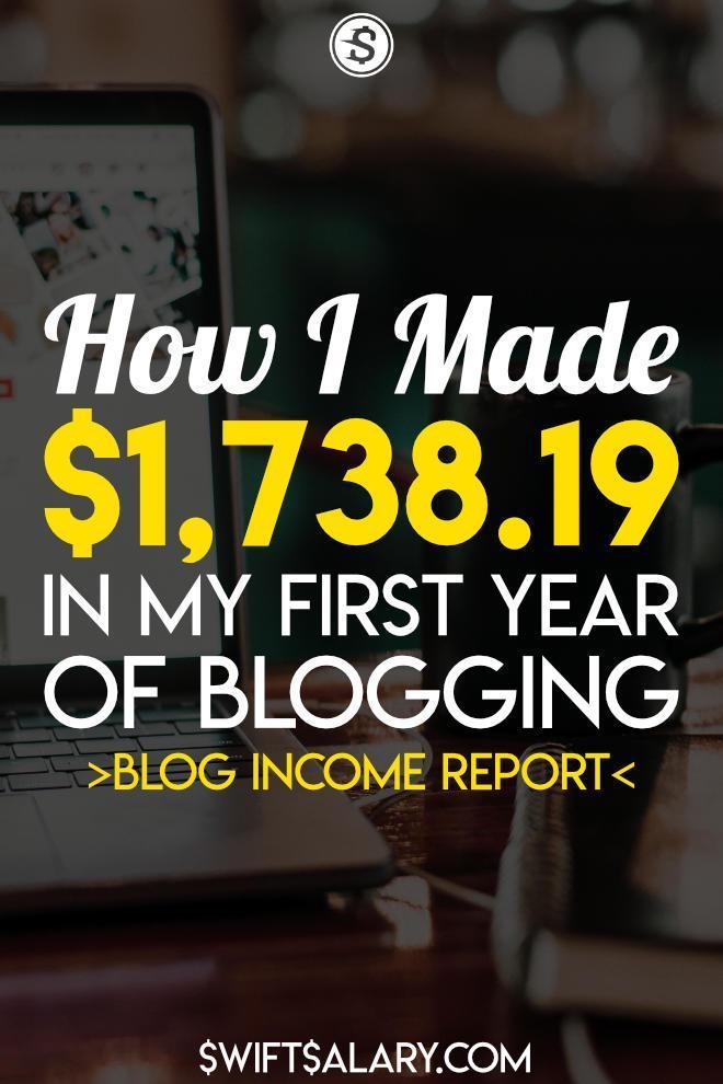 Después de un año completo de blogs, este es mi informe de ingresos de blogs. Vea el viaje mes a mes y vea qué lecciones aprendí y qué haría de manera diferente. #blogging #bloggingincome #makemoney #makemoneyonline