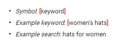 las palabras clave de concordancia exacta han cambiado Google AdWords