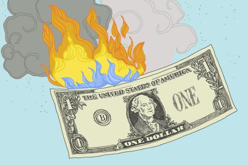 El movimiento FUEGO está barriendo el país. ¿Pero qué pasa si estás en deuda?