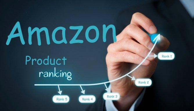 ranking de palabras clave de Amazon
