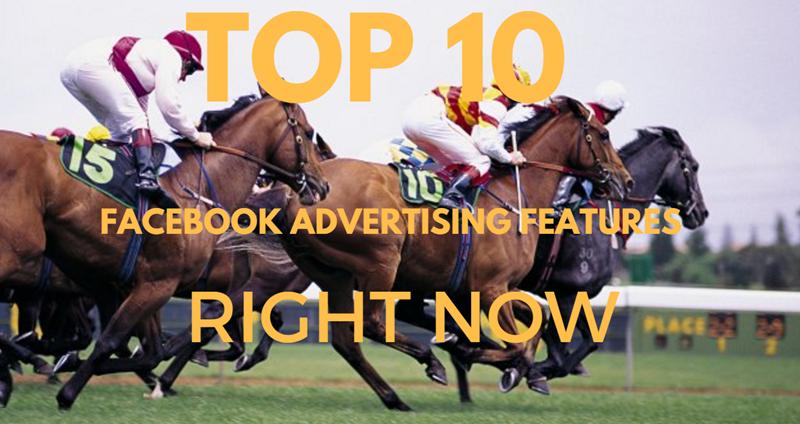 diez principales características publicitarias de facebook