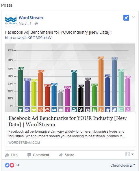 anuncios de compromiso de pared de publicidad en Facebook