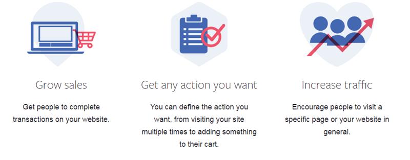 Funciones de anuncios de Facebook