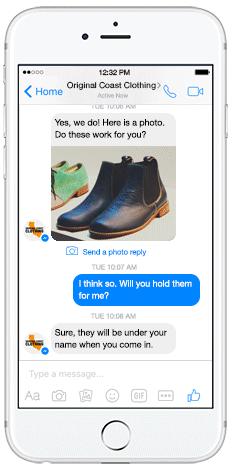 anuncios de Facebook Messenger