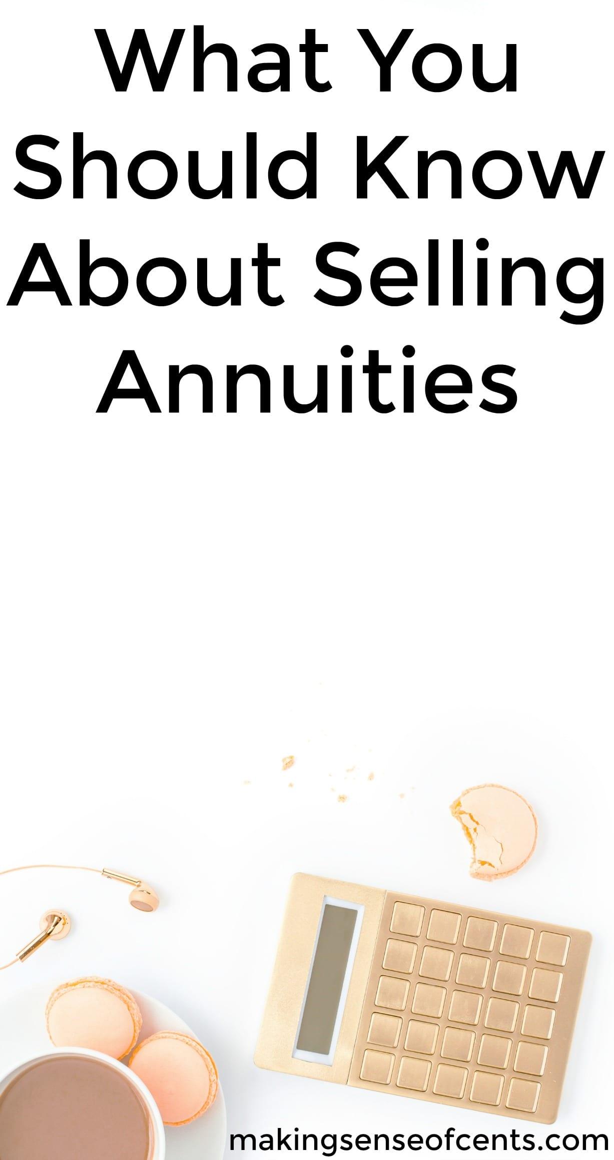 Descubra lo que debe saber sobre la venta de pensiones. Esta es una gran lista!