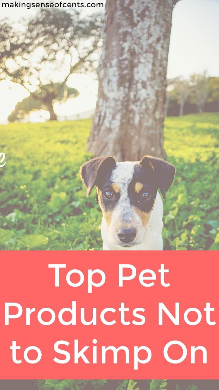Echa un vistazo a esta lista de los mejores productos para mascotas que no debes escatimar.