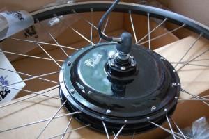 Mi rueda trasera de 500 vatios de EbikeKit.com