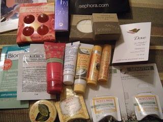 Plan de comidas y My Beauty Blogger Sample Swap