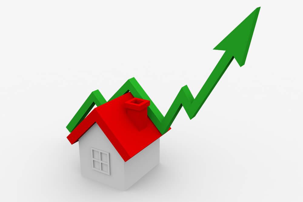 creciente préstamo hipotecario