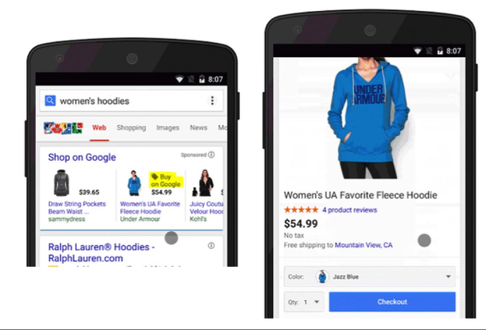 compras en google para serp móvil