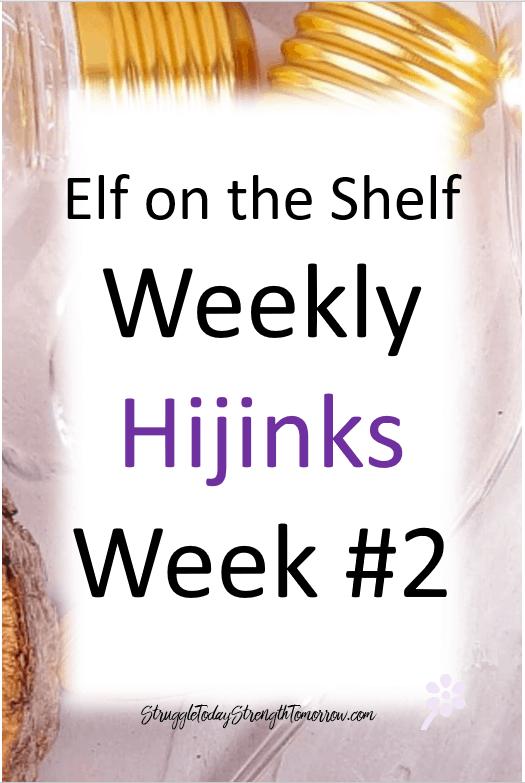 duende en el estante semanal hijinks semana # 2
