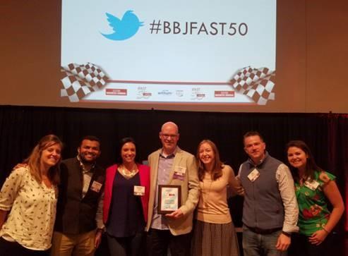 WordStream gana el premio Fast50
