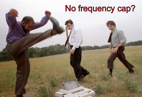 límite de frecuencia de remarketing
