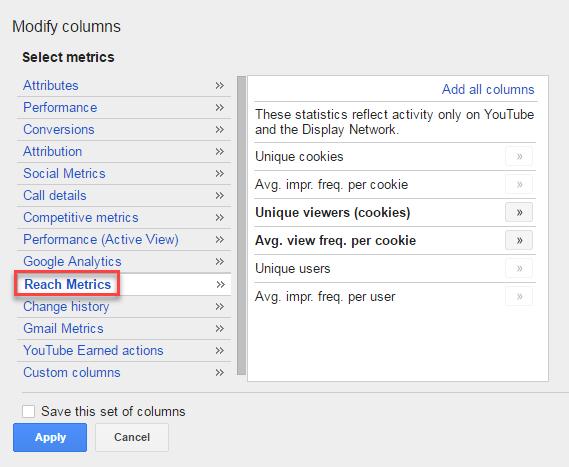 cultivar adwords alcanzar métricas freq cap