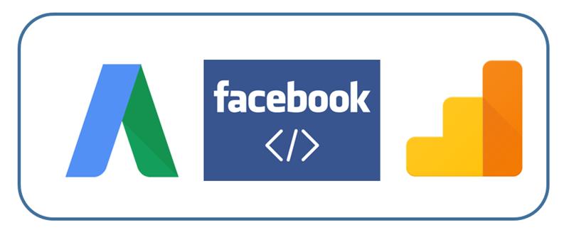 seguimiento de conversiones de adwords facebook GA