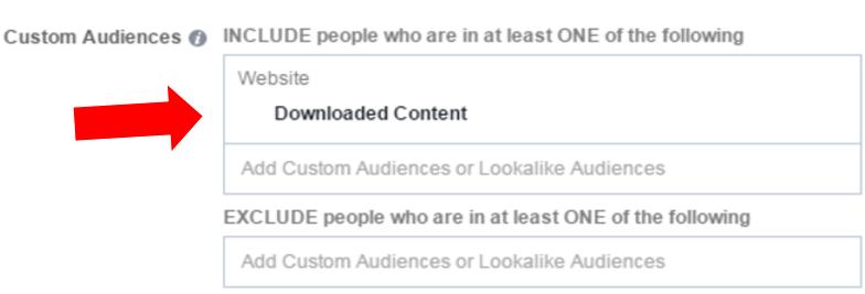 Facebook nutre audiencias personalizadas
