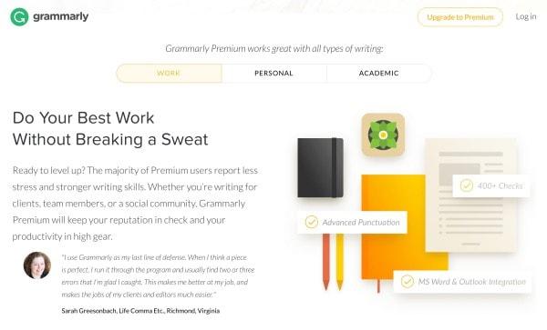 Consejos de redacción de blogs: cómo usar Grammarly para corregir su publicación de blog